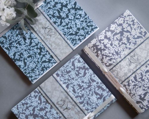 A5 Notebook with Signature Floral Design sets available